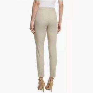 St. John Womens Emma Tan Pants Size 2